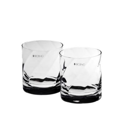 Krosno Set of 2 Silhouette Double Old Fashion Glass