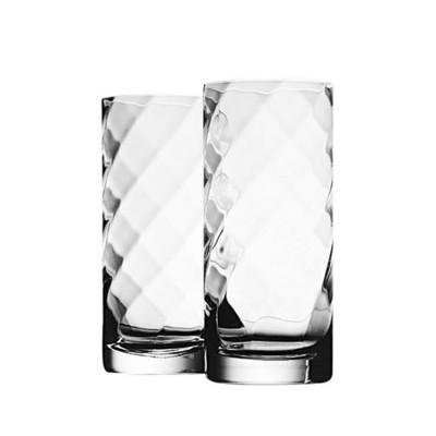 Krosno Set of 2 Silhouette Hi-Ball Glass 380ml