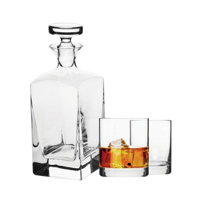 Krosno 3 Piece Vinoteca Decanter