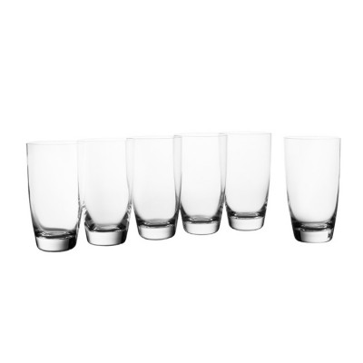 Krosno Set of 6 Vinoteca Hi-Ball Glass