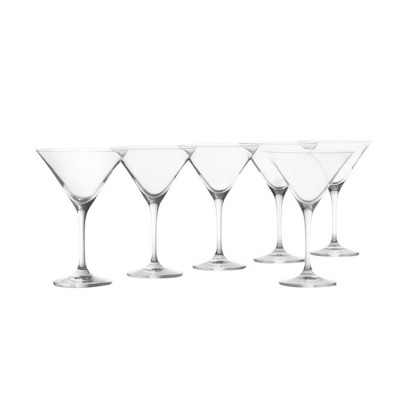 Krosno Set of 6 Vinoteca Martini Glass