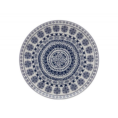 Maxwell & Williams Blue Antico Round Platter 36.5cm