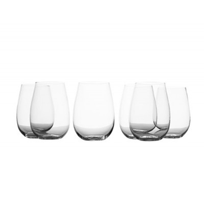 Maxwell & Williams Mansion 500ml Set of 6 Stemless White Wine Glasses