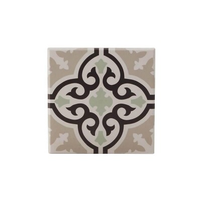 Maxwell & Williams Medina Ceramic Square Tile Coaster Mekes 9cm | DU0014