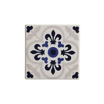 Maxwell & Williams Medina Ceramic Square Tile Coaster Temara 9cm | DU0054