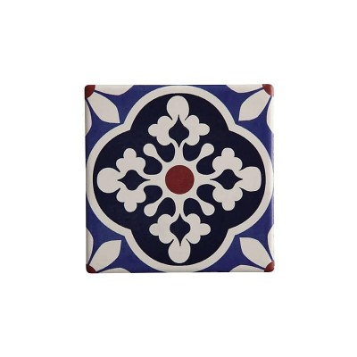 Maxwell & Williams Medina Ceramic Square Tile Coaster Tiznit 9cm | DU0053