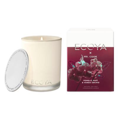Ecoya X Mr Cook - Pomelo, Mint & Vanda Orchid Madison Jar | MADI501