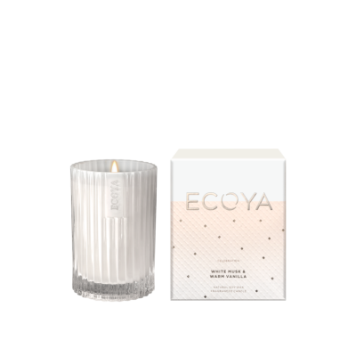 Ecoya White Musk & Warm Vanilla Mini Celebration Candle | CELE01