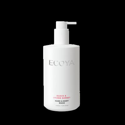 Ecoya Guava & Lychee Sorbet Hand and Body Wash | WASH204