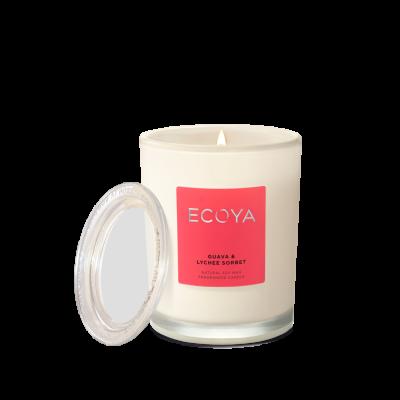 Ecoya Guava & Lychee Sorbet Metro Jar | METR204