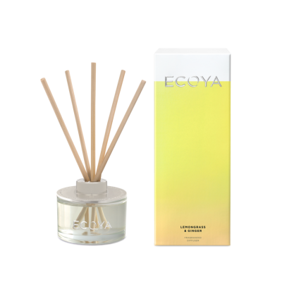 Ecoya Lemongrass & Ginger Mini Diffuser | REED206