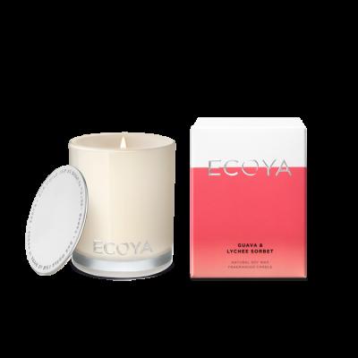 Ecoya Guava & Lychee Sorbet Mini Madison Jar | MINI204