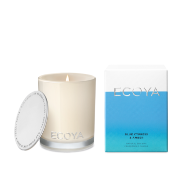 Ecoya Blue Cypress & Amber Mini Madison Jar | MINI208