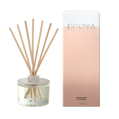 Ecoya Cedarwood & Leather Diffuser | REED310