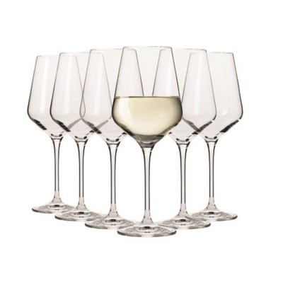 Krosno Set of 6 Flair Riesling Wine Glass 390ml