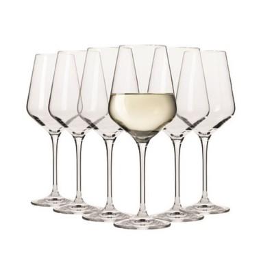 Krosno Set of 6 Flair Riesling Wine Glass 390ml
