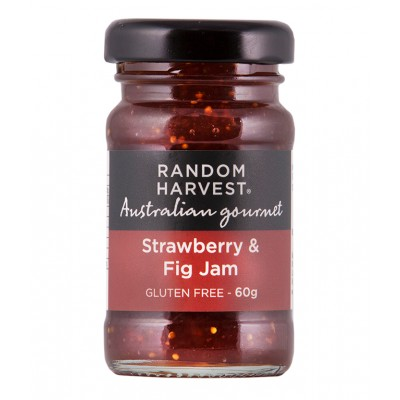 Random Harvest Strawberry & Fig Jam 60g