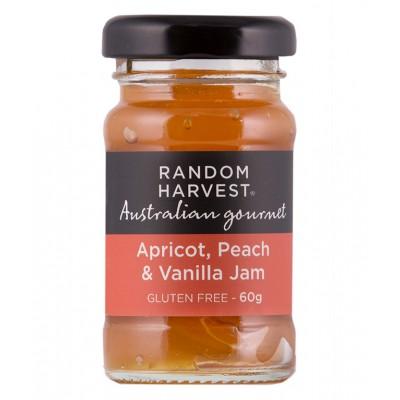 Random Harvest Apricot, Peach & Vanilla Jam 60G