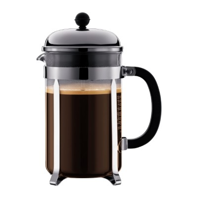 Bodum Chambord Coffee maker, 12 cup, 1.5 l, 51 oz Shiny