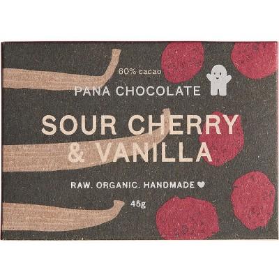 Pana Chocolate Sour Cherry & Vanilla 45G Bar