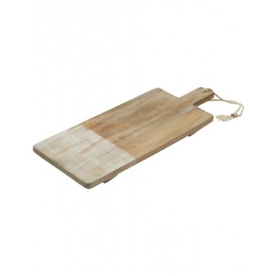 Tara Dennis Coast Mango Wood Rectangular Board 55cm