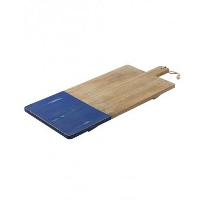 Tara Dennis Coast Mango Wood Rectangular Board 70cm