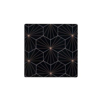Maxwell & Williams Tessellate Ceramic Square Tile Coaster Aster 9.5cm | DU0039