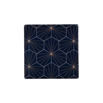 Maxwell & Williams Tessellate Ceramic Square Tile Coaster Aster 9.5cm | DU0040