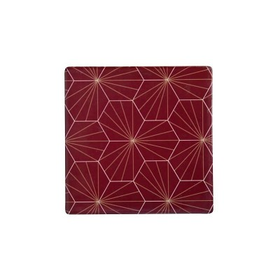 Maxwell & Williams Tessellate Ceramic Square Tile Coaster Aster 9.5cm | DU0041