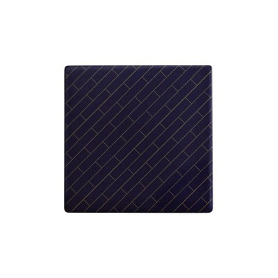 Maxwell & Williams Tessellate Ceramic Square Tile Coaster Avenue 9.5cm | DU0034