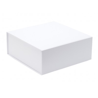 The GIFT'D Medium 4s Hamper Box White Pack of 10