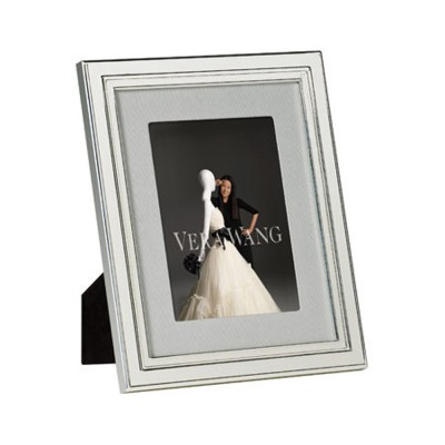 "Vera Wang Wedgwood Chime Silver Giftware Frame 5""x7"" (12.5x18cm)"