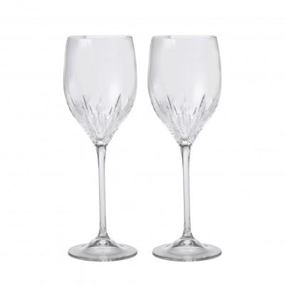 Vera Wang Wedgwood Duchesse Crystal Wine set of 2