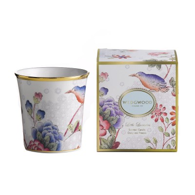 Wedgwood Little Luxuries Cuckoo Candle: Rose & Jasmine Fragrance-1