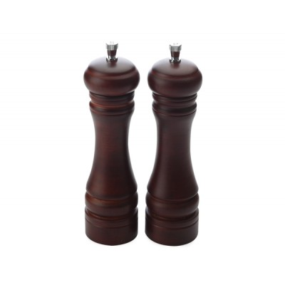 Maxwell & Williams Walnut Salt & Pepper Mill Set 17cm