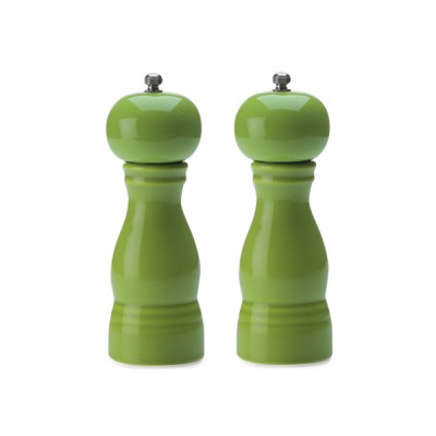 Maxwell & Williams Colour Basics Salt & Pepper Mill Set 17cm - Green